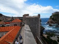 Walking the City Walls of Dubrovnik. To take our time - it took us two hours.