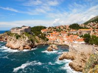 Colours of the day - Dubrovnik's coastline.