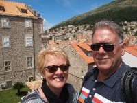 Selfie - on the City Walls of Dubrovnik.