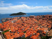 The highest point on the City Walls - this is Dubrovnik!