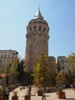 The Galata Tower - 1500 years old.