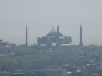 The Blue Mosque - taken from the lookout at the Galata Tower.