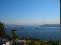 A view of the Bosphorus River - from the grounds of Topkapi Palace.