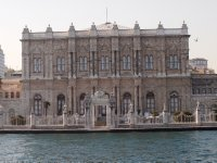 One of Istanbul's grand buildings, right on the water.