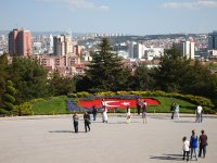 View of Ankara from the grounds of Ataturk's Mausoleum