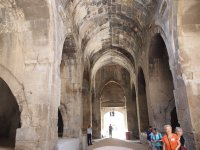 Inside a Caravanserai - a place to rest and shelter.