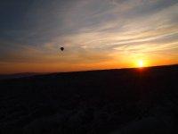 Beautiful sunrise - Cappadocia.