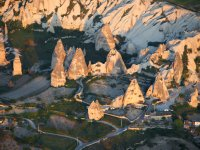 Flying over the Fairy Chimneys.