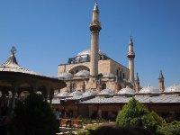 Mevlana Museum in Konya.