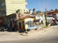 Corner shop in rural Turkey.