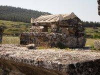 Ancient sarcophagus - built to resemble a house.