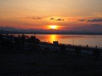 Sunrise in Antalya.