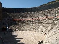 The Amphitheatre at Aspendos - still providing amazing accoustics.