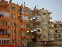 There are hundreds of apartment blocks in Antalya - in most Turkish cities for that matter.