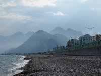 View from the beach in Antalya.