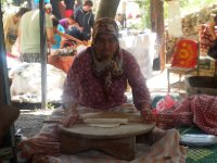 This lady made the Gozlemes that we had for lunch in the little village of Kayakoy.