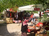 Village of Kayakoy - hand made products for sale.