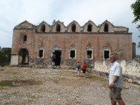 The derelict church at Karymlassos.
