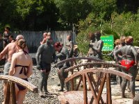 Some visitors to the Mud Baths and Thermal Springs of Dalyan.