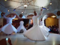 Traditional Ceremony of the Whirling Dervishes of Mevlana.