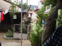 Modest backyard - in the village of Gobeller.