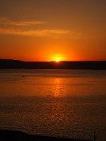 Sunset at Canakkale.