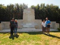 A memorial at Anzac Cove - Gallipoli.