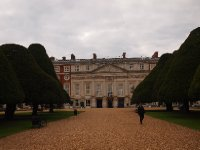 Hampton Court Palace - taken from the gardens at the rear.