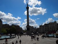Nelson's Column at Trafalgar Square.