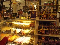 Display of chocolates in Harrods.