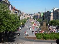 Wenceslas Square - Prague.