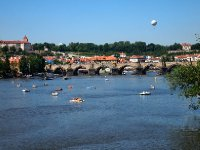 The Charles Bridge - Prague.