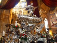 The final resting place of St. Wenceslas - St. Vitus Cathedral - Prague.