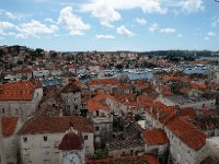 View from the Bell Tower of the Cathedral of St. Lawrence - Trogir.