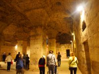The cellar of the Diocletian's Palace - Split.