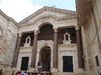 Diocletian used this podium to address his subjects.