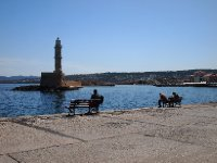 A simple life - Chania's Venetian Harbour.