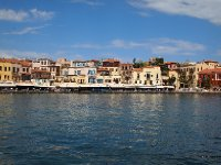 The beautiful port of Chania.