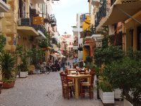 This little street is about a 20 second walk from our apartment in Chania.