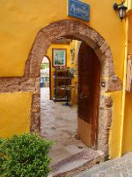 Quaint doorway - Chania.