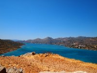 On top of Spinalonga Island.