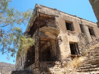 One of two dormitories on Spinalonga Island - a home for some of those suffering from leprosy.