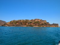 This is Spinalonga Island - Crete.