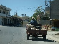 Travelling through one of the small towns on the way south to Phaestos.
