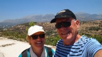 Selfie - at the Archeological Ruins of Phaestos.