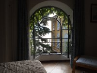 Our bedroom window in our apartent in Varenna.