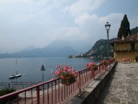 A hazy but still beautiful day on Lake Como.