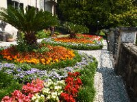 One of Varenna's main attractions - the Gardens of the Villa Monastera.