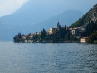 A view of Varenna from the Gardens of the Villa Monastera.