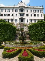 Beautiful forecourt of the Villa Carlotta - Lake Como.